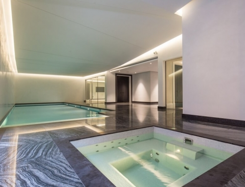 Pool for New Build Properties Hampstead